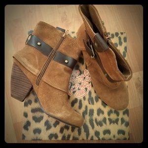 Buckle Naughty Monkey ankle boots